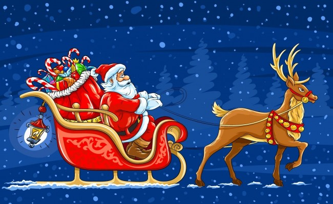 santa-claus-and-reindeer-pictures-6