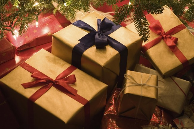 work-christmas-presents