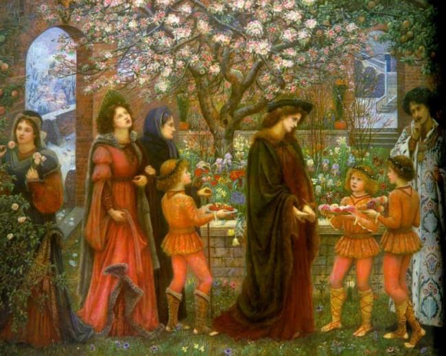 Ο μαγικός κήπος του Messer Ansaldo