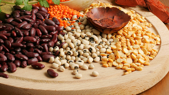 Pulses, nuts and seeds