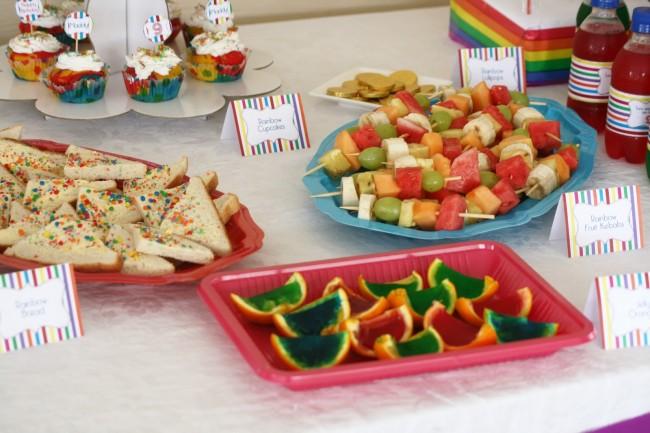food table 4