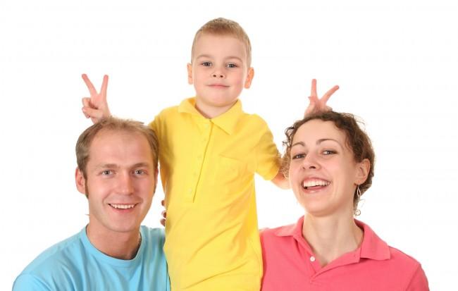 Boy-With-Parents