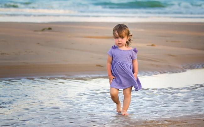 nature-beach-sea-waves-kids-children