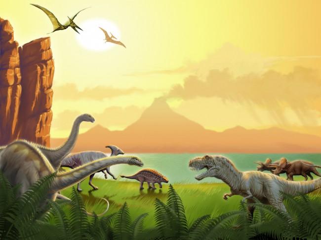 εποχή των δεινοσαύρων