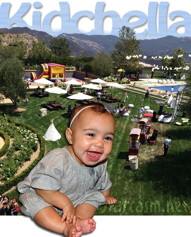 Η Kim Kardashian γιορτάσε τα πρώτα γενέθλια της κόρης της με ένα πάρτι υπερπαραγωγή!
