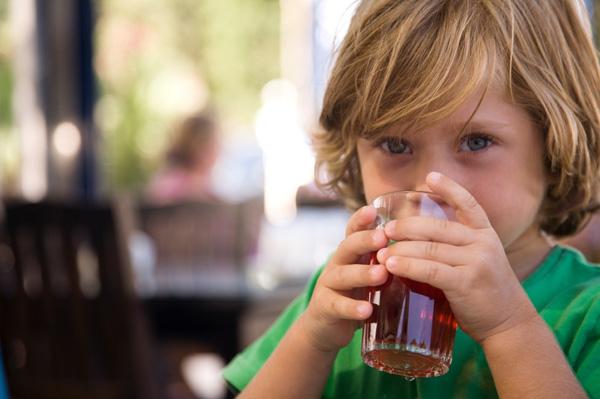 boy-drinking-juice