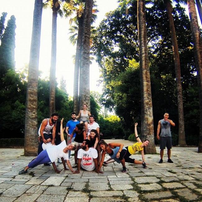 «Wake up Street»: Το πρωί με την αυγούλα, οι Αθηναίοι κάνουν γυμναστική στον Εθνικό Κήπο