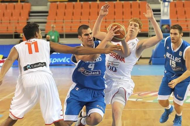 Στους «8» του Ευρωπαϊκού Πρωταθλήματος Νέων Ανδρών η Εθνική