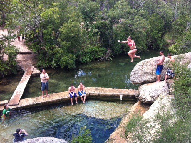 Jacobs-Well-Jump