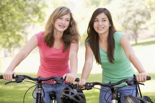 Teens-Riding-Bicycles