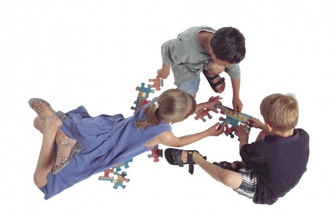 Three kids puzzle