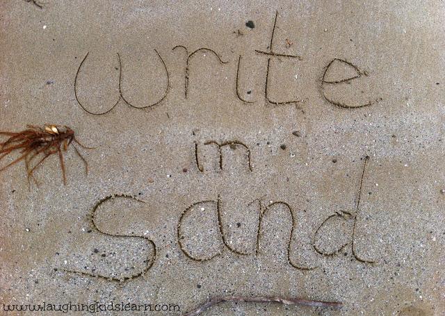 WriteinSand
