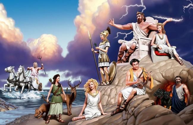 θεοί του ολύμπου