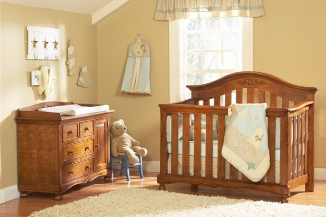 Brown-Neutral-Baby-Room-Idea