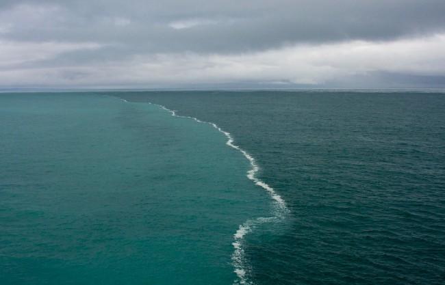 το σημείο που ενώνονται δύο ωκεανοί