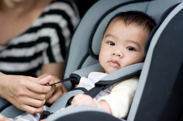 Πόσα μικρόβια «κρύβει» το παιδικό κάθισμα του αυτοκινήτου;