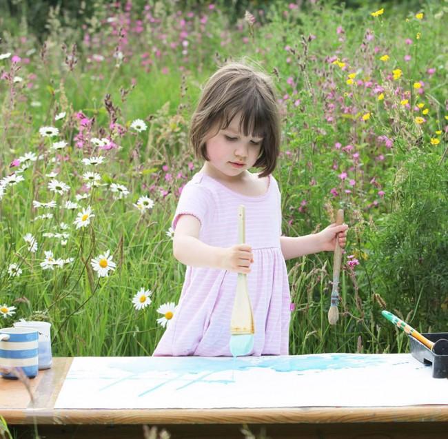 5χρονο κοριτσάκι με αυτισμό δημιουργεί εκπληκτικά έργα τέχνης!