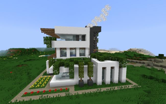 Minecraft_modern_house-9