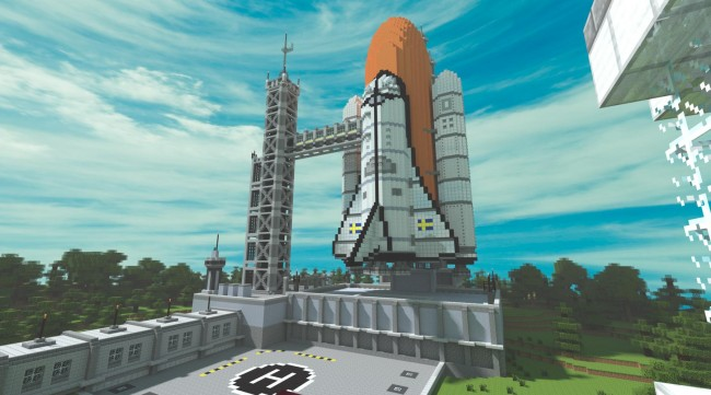 minecraft-nasa-space-shuttle