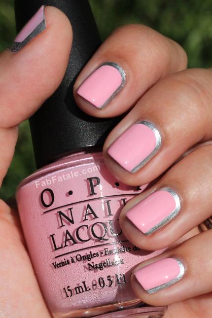 nailartlove-metallic-silver-rimmed-nails-chanel-2012-inspired