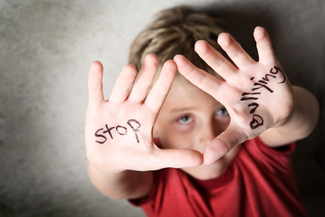 Bullying-Child-with-Hands-Out
