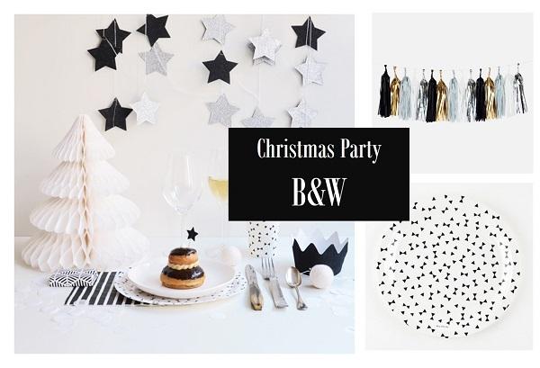 B&W party