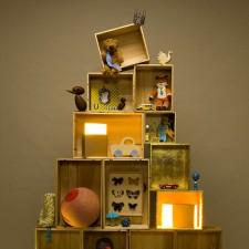 Δημιουργικές δραστηριότητες για παιδιά  Ένα Χριστουγεννιάτικο δέντρο από  κουτιά! 4361795a330
