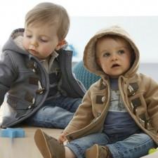 Ζεστά βρεφικά μπουφανάκια για τις πρώτες βόλτες του χειμώνα! d15fc5429ee