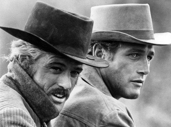 """Butch Cassidy And The Sundance Kid"" Film Still"