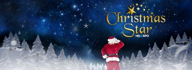 Τo αστέρι των Χριστουγέννων αποκτά τη δική του φιλόξενη στέγη στο Helexpo (από 12/12)