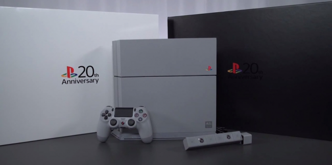 sony-just-unveiled-a-gorgeous-limited-edition-ps4-to-celebrate-20-years-of-playstation