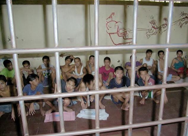 φυλακισμένα παιδιά