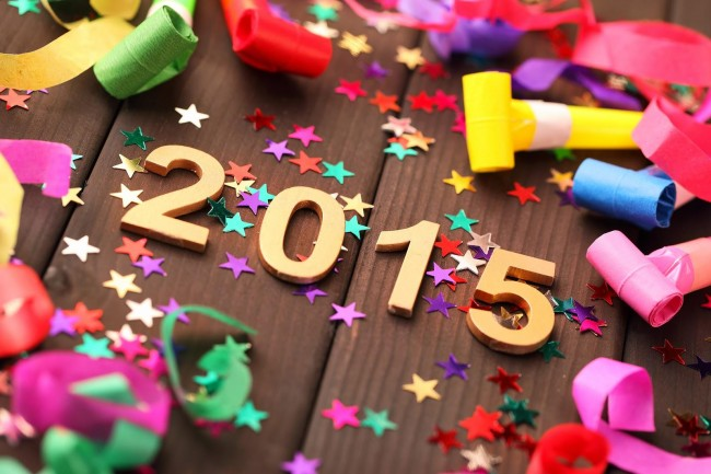 Happy-New-Year-2015-HD-Wallpapers-for-kids-with-stars-decoration