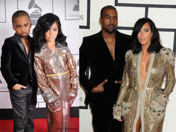 Ο Kanye West με την Kim Kardashian