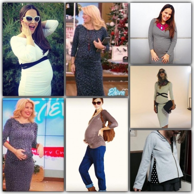b7ee2cf9cbf1 Τα ρούχα εγκυμοσύνης που αγαπά η Ελένη Μενεγάκη