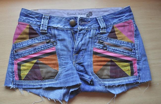 Ζωγραφική σε ύφασμα: Το τζιν παντελόνι ή σορτσάκι, αλλάζει χρώμα, γίνεται ανοιξιάτικο!
