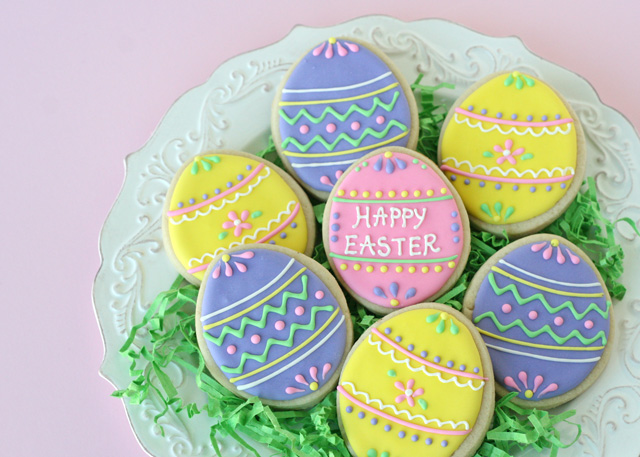 Pretty-Easter-Egg-Cookies