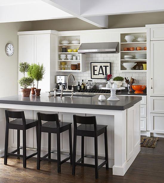 Διακόσμηση: 16 Υπέροχες λευκές κουζίνες!