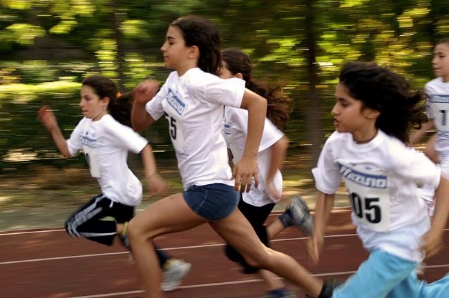 Kids running 5k