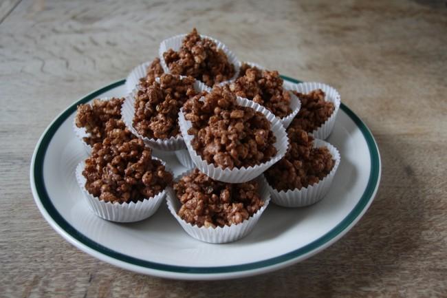 Νηστίσιμα σοκολατάκια δημητριακών