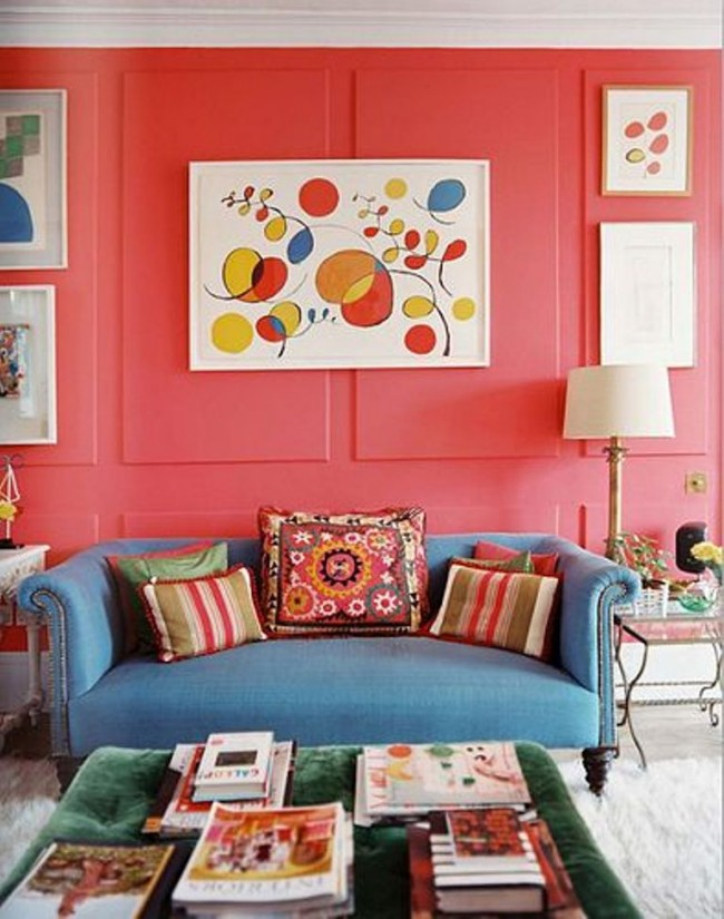 Funky-Pink-Living-Room