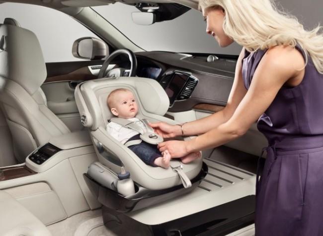 Αυτό είναι το παιδικό κάθισμα του μέλλοντος από τη Volvo (βίντεο)