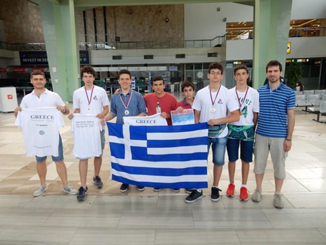 έλληνες μαθητές στην μαθητική ολυμπιάδα