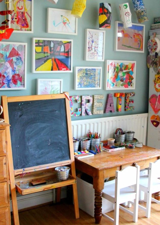 21-Ways-to-Display-Kids-Artwork-30