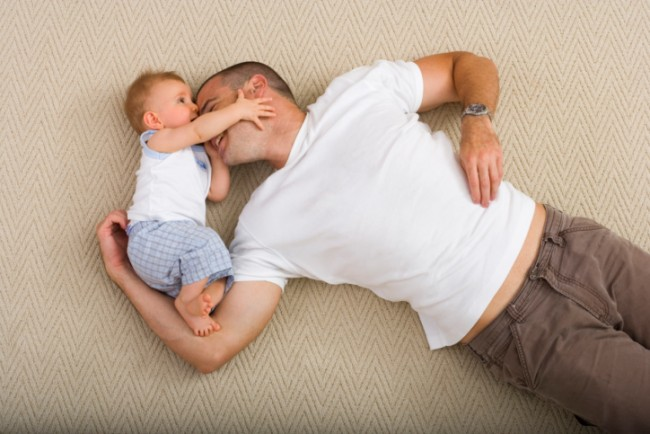86547239-Father-and-baby