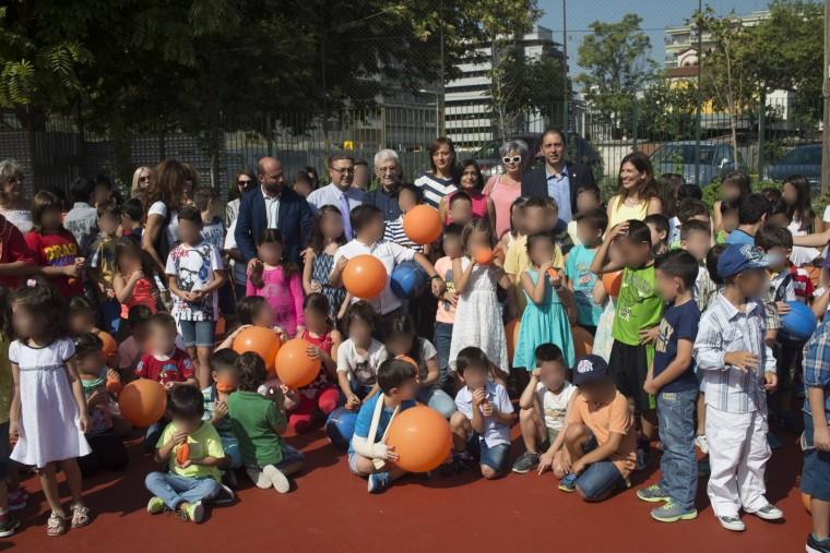 «Μια νέα ανάσα… πρασίνου για τους μαθητές του 63ο Δημ. Σχ. Θεσσαλονίκης» – Τον Οκτώβριο θα είναι έτοιμη η παιδική χαρά στην Αθήνα