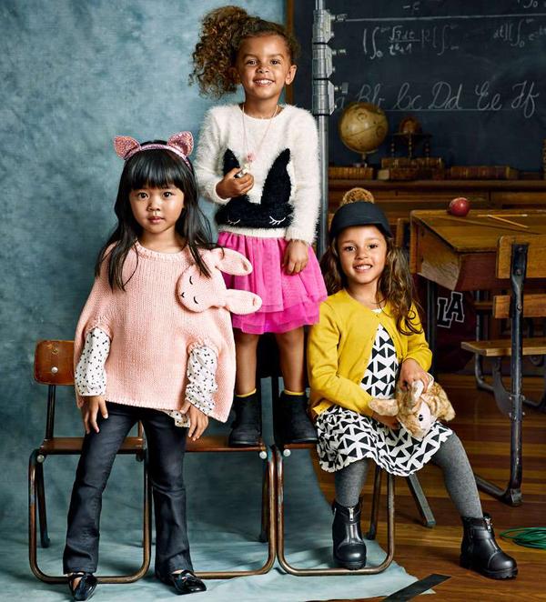 2665c53b865 Η παιδική συλλογή της H&M για το Φθινόπωρο 2015 προτείνει ένα μείγμα street  style και παιχνιδιάρικων κομματιών, συνδυάζοντας την ομορφότερη μόδα με την  ...