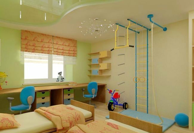 Φτιάξτε ένα μίνι γυμναστήριο στο παιδικό δωμάτιο, εύκολα και οικονομικά, και εκτονώστε το άγχος και τις σκοτούρες!