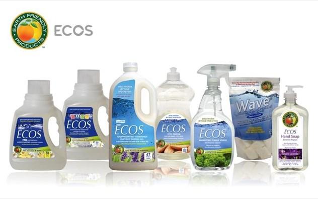 Τα ECOS βραβεύτηκαν ως τα ασφαλέστερα προϊόντα καθαρισμού στην Αμερική για το 2015!