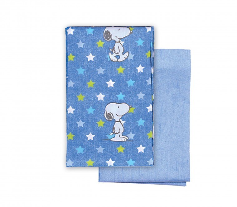 SNOOPY STAR BASINETSHEET